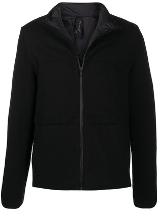 Transit Zip-Up Funnel-Neck Down Jacket