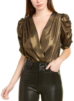 Amanda Uprichard Arabella Silk Bodysuit