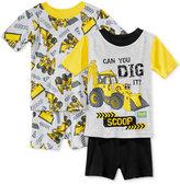 Bob the Builder 4-Pc. Cotton Pajama Set, Toddler Boys (2T-5T)