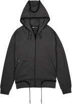 Y-3 Dark Grey Hooded Cotton Sweatshirt