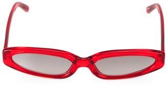 Linda Farrow 57MM Cat Eye Sunglasses