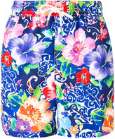 Polo Ralph Lauren floral print swim shorts - men - Polyester - L