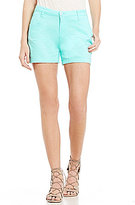 Freestyle Sateen Flat Front Shorts