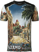 Dolce & Gabbana Palermo print T-shirt - men - Cotton - 48