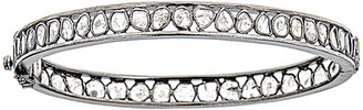 Forever Creations Usa Inc. Forever Creations Silver 3.60 Ct. Tw. Diamond Bangle
