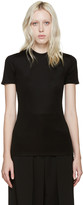 Paco Rabanne Black Open-back T-shirt