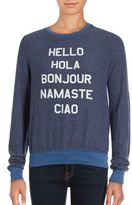 Wildfox Couture Say Hello Sweatshirt