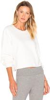 Lacausa Cropped Pullover Sweatshirt