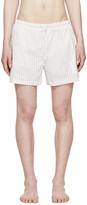 Thom Browne Tricolor Striped Swim Shorts