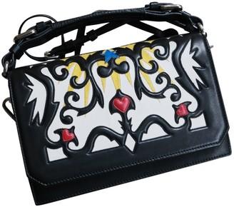 MSGM Black Leather Handbags
