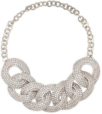 Alessandra Rich Crystal-embellished necklace