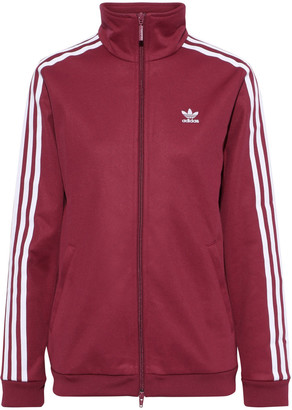 adidas Striped Jersey Track Jacket