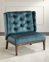 Old Hickory Tannery ZAZU TUFTED BACK CHAIR
