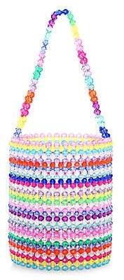 Susan Alexandra Women's Merry Beaded Bucket Bag