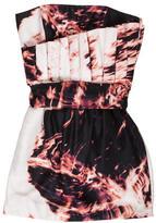 Sass & Bide Silk Strapless Dress