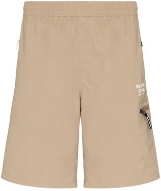 Pas Normal Studios Off Race Shield shorts