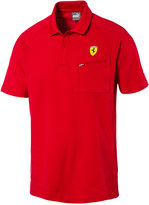 Puma Men's Ferrari dryCELL Cotton Polo