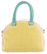 Christian Louboutin Tricolor Small Panettone Dome Satchel