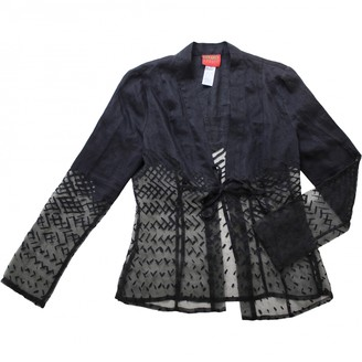 Kenzo Anthracite Jacket for Women Vintage