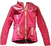 K-Way K Way Pink Leather Jacket for Women