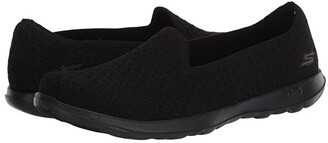 Skechers Performance Performance Go Walk Lite (Black) Women's Flat Shoes