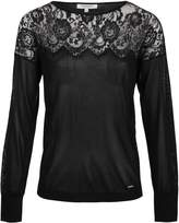 Morgan Mesh Knit Jumper With Lace