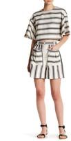 Tibi Ariel Stripe Dayle Short