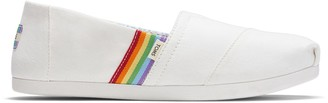Toms Rainbow Stripe Women's Classics