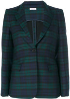 P.A.R.O.S.H. plaid blazer - women - Polyester/Spandex/Elastane/Acetate/Virgin Wool - S