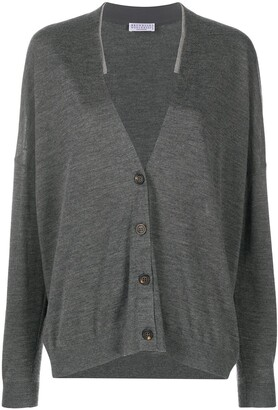 Brunello Cucinelli Buttoned Long-Sleeved Cardigan