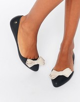 Melissa Trippy Bow Point Flat Shoes