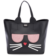 Karl Lagerfeld Women's K/Kocktail Choupette Shopper Bag Black