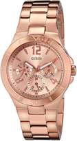 GUESS GUESS? Women's U13624L1 Analog Display Quartz Rose Watch