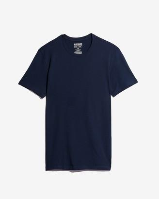 Express Supersoft Moisture-Wicking Crew Neck T-Shirt