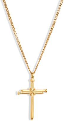 Bracha Three Nails Cross Necklace