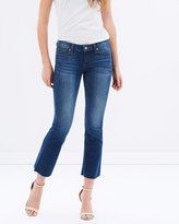 Paige Riley Slim Crop Flare Jeans
