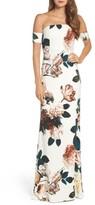 Sachin + Babi Women's Sahni Floral Off The Shoulder Gown