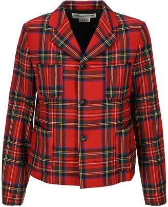 COMME DES GARÇONS GIRL Tartan Jacket