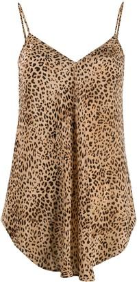 Mes Demoiselles Leopard Print Vest