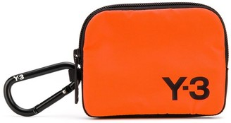 Y-3 Logo Printed Coin Pouch