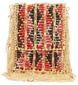 Rosantica Dakota Small Beaded Cross-body Bag - Womens - Red Multi