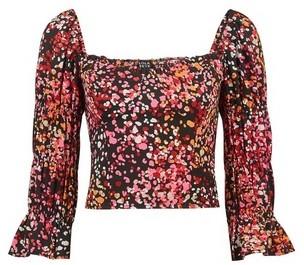 Dorothy Perkins Womens **Lola Skye Pink Printed Bustier Top, Pink