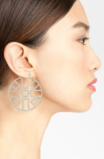 Tory Burch 'Jordan' Hoop Earrings