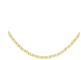 Celtic 9ct Yellow Gold 18 Inch Double Chain