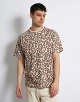The Idle Man Animal Print Boxy T-shirt
