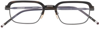 Jacques Marie Mage Comanche rectangle-frame glasses