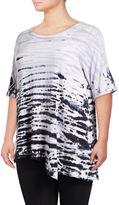 Calvin Klein Performance Plus Tie-Dye Stripe T-Shirt