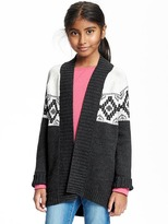 Old Navy Printed Cardi-Coat for Girls