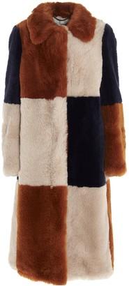 Stella McCartney Fur Free Fur Adalyn Coat