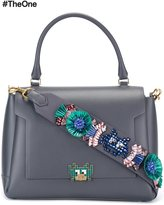Anya Hindmarch 'arcade' embellished medium tote - women - Calf Leather/Crystal - One Size